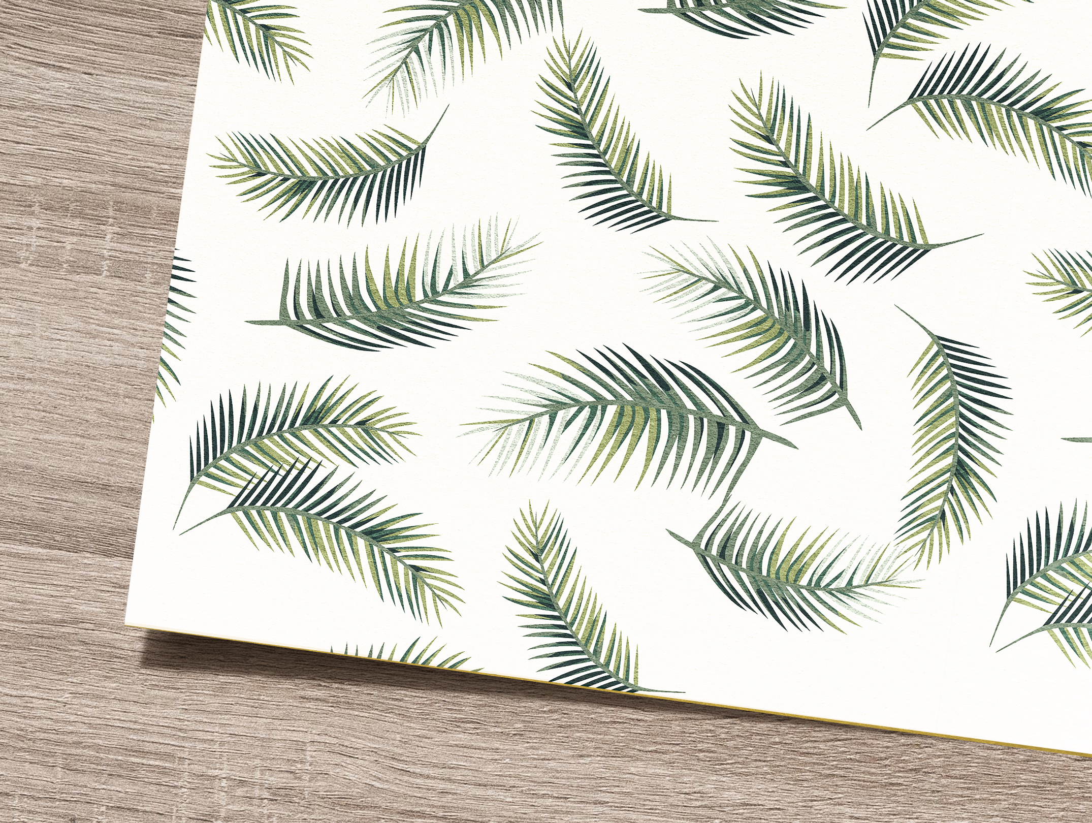 Tropical flowers and leaves pattern. Seamless design. example image 6
