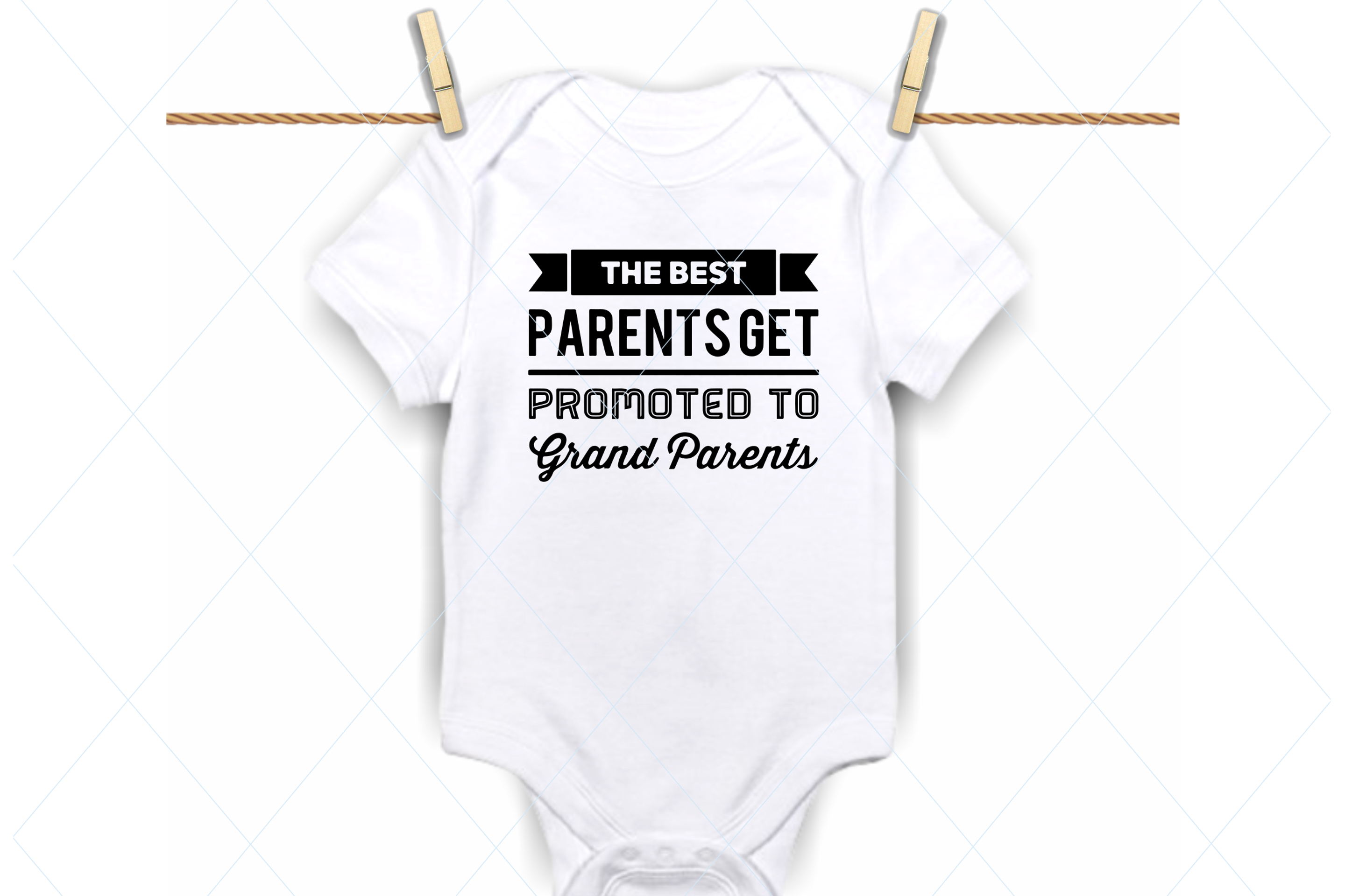 Best parents promoted to grandparents svg, onesie svg example image 1