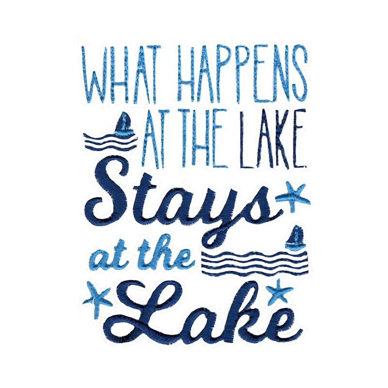 Lake House - 15 Machine Embroidery Designs example image 7