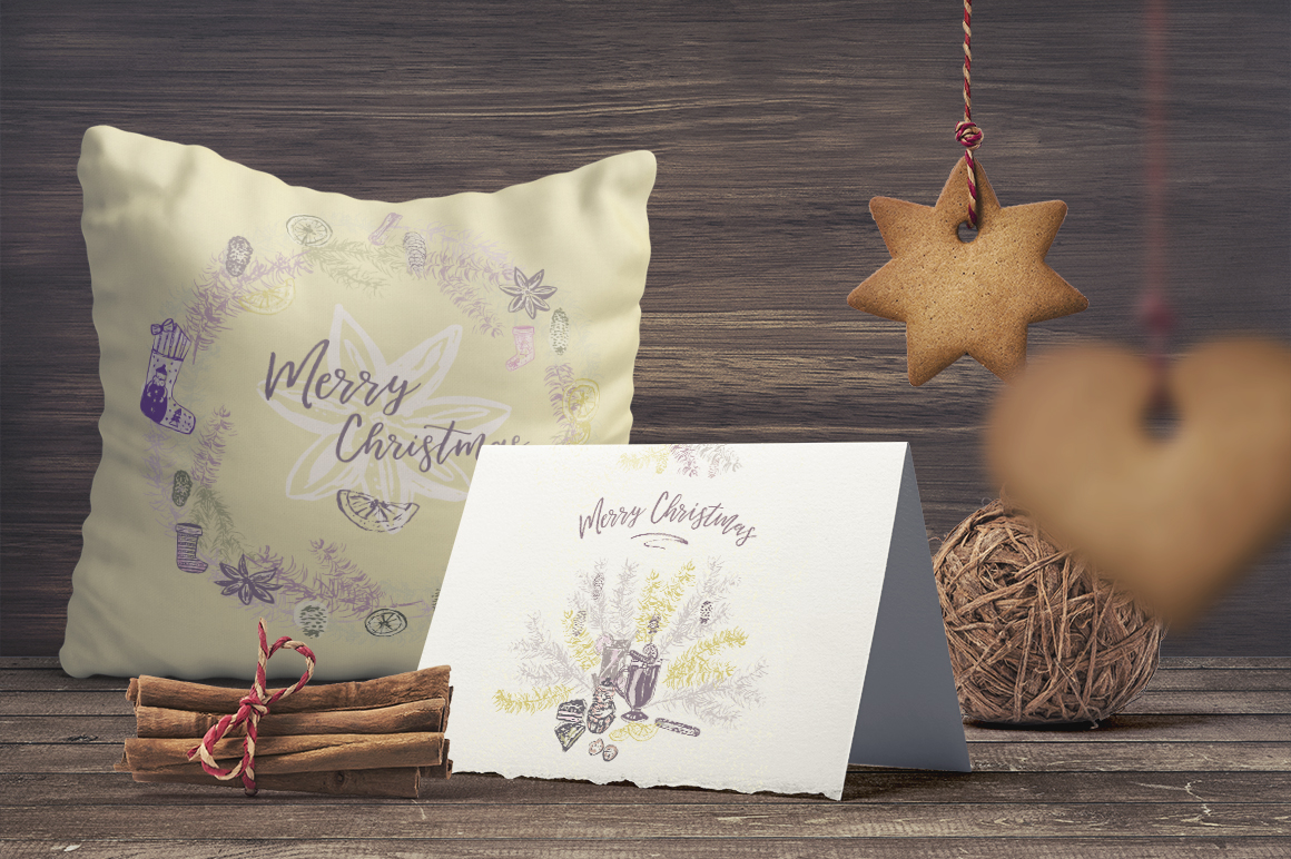Sweet Christmas - vector example image 2