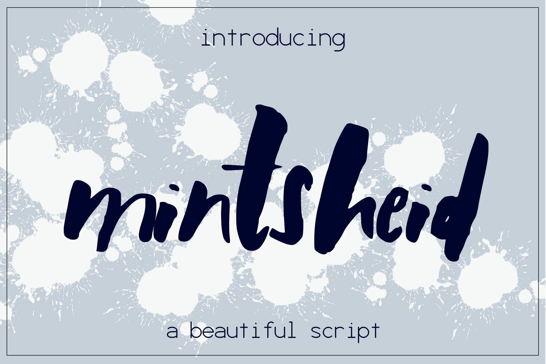 Mintsheid Font example image 1