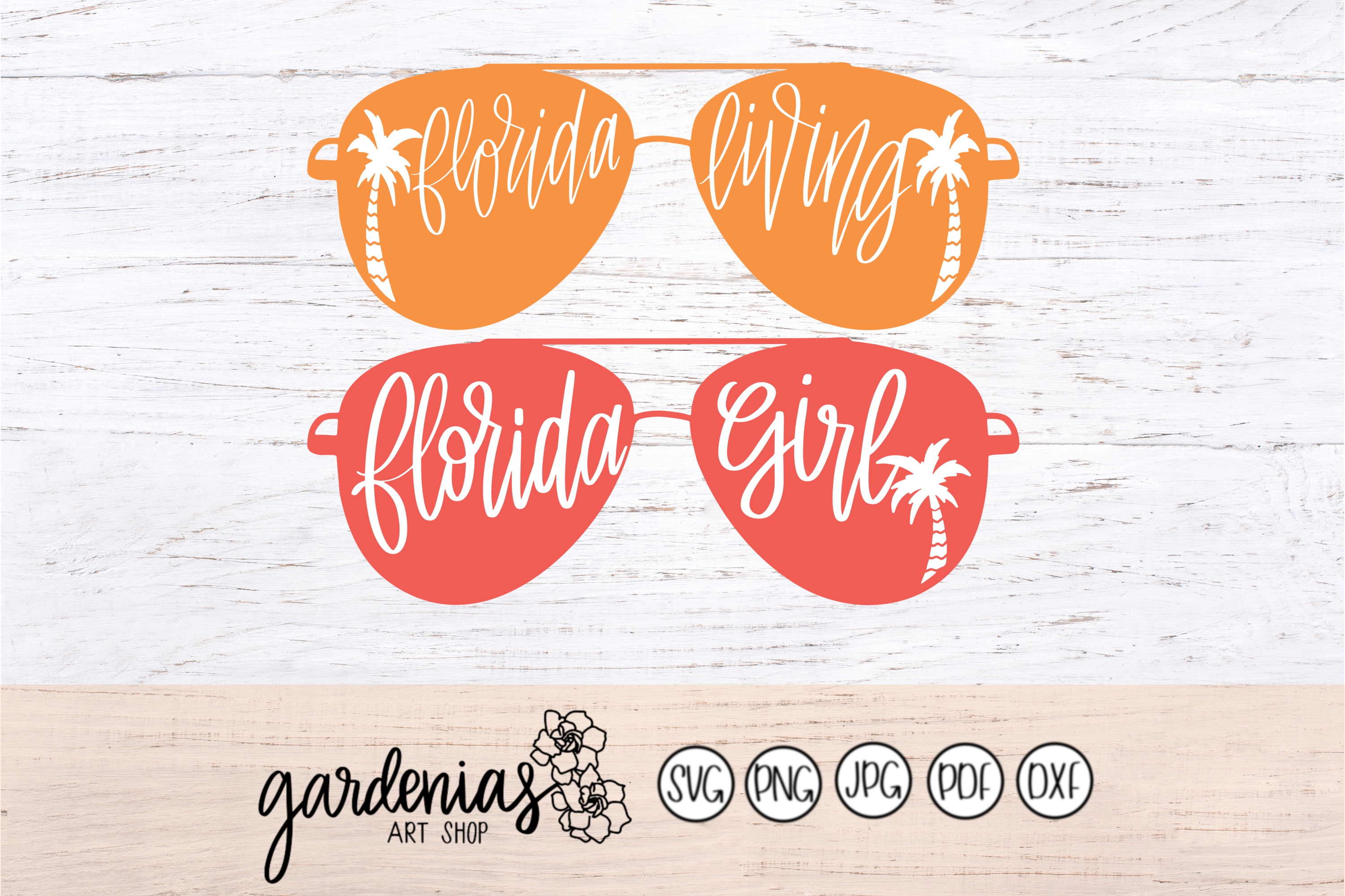 Florida Living Sunglasses / Florida Girl Sunglasses example image 2