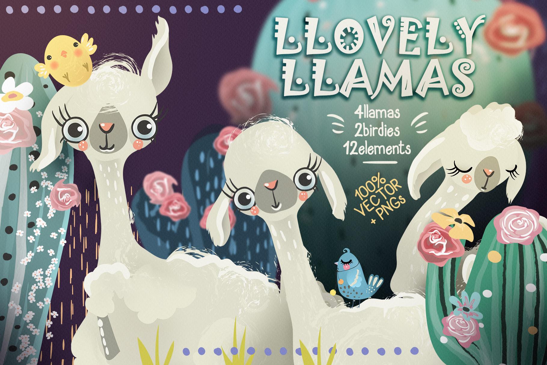 Llovely Llamas example image 1