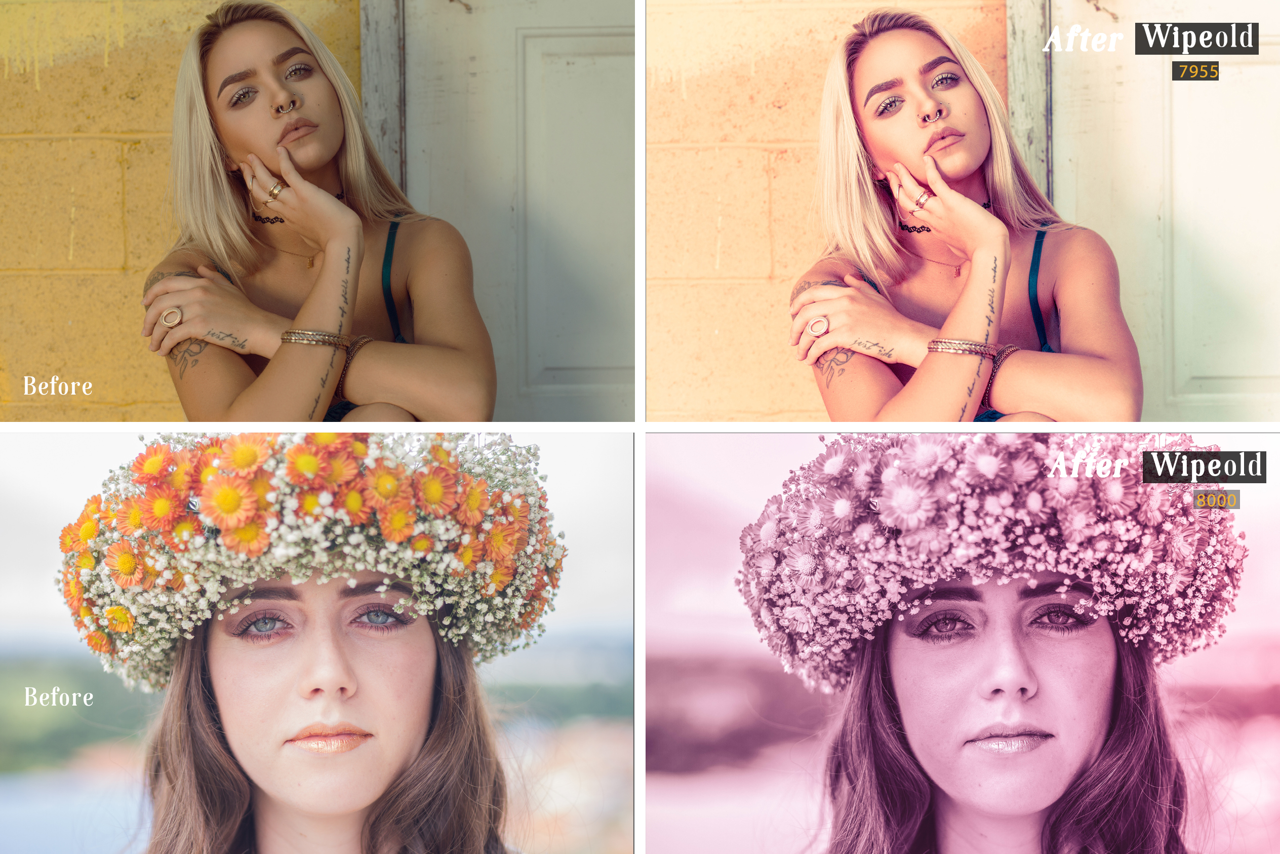 Wipeold Lightroom 100 and ACR 100 Presets example image 6