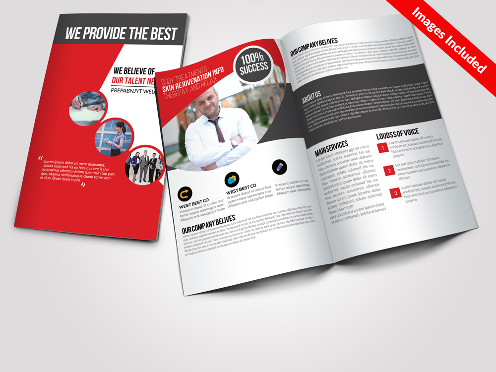 Business Bi Fold Brochure Templates example image 1