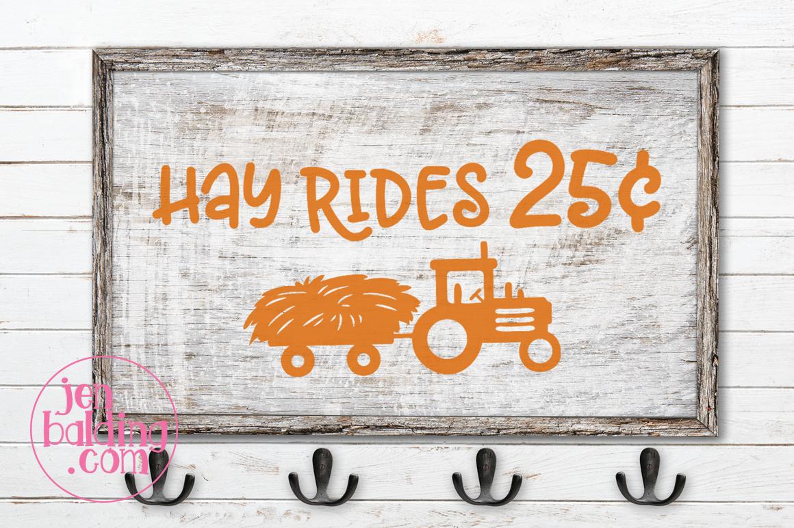 Hay Ride SVG example image 2
