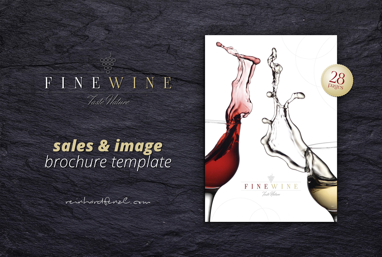 FINE WINE - Sales & Image Brochure example image 1