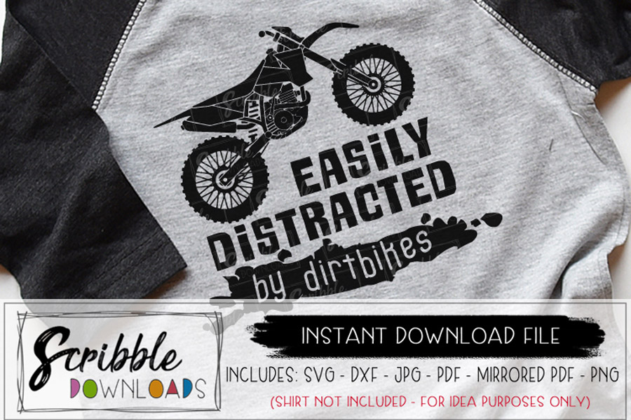 Easily Distracted by Dirtbikes example image 1