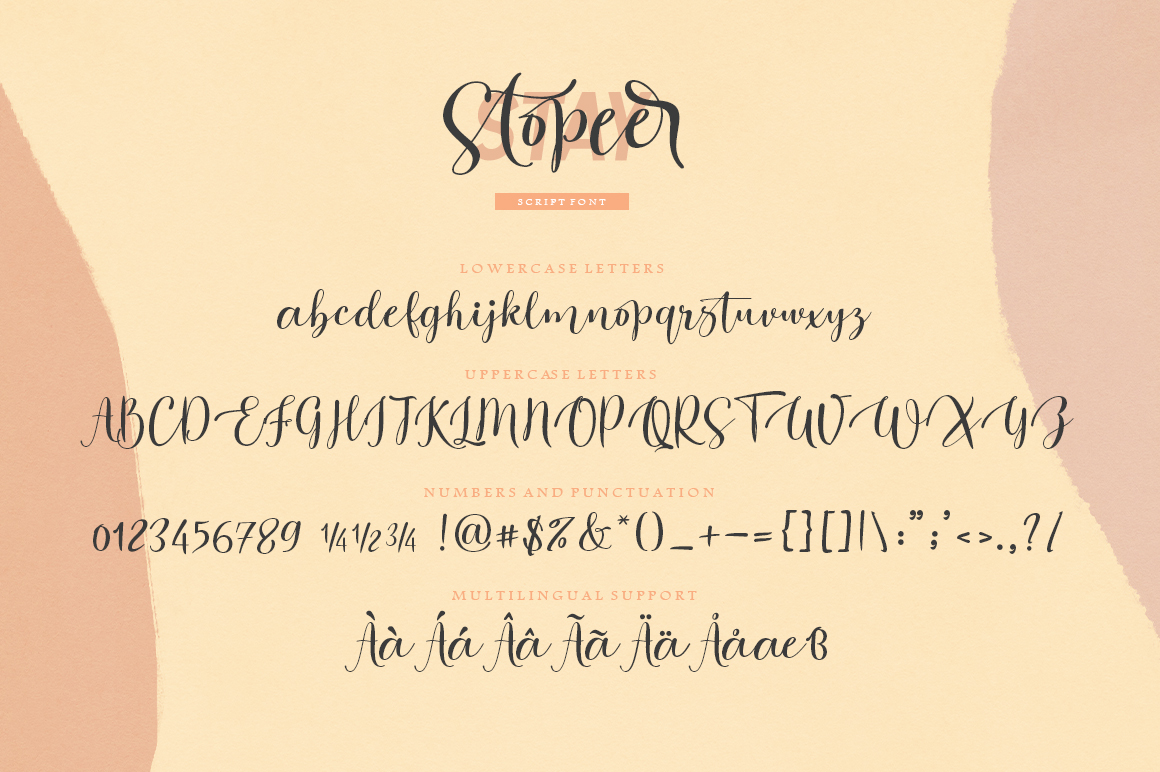 Stay Stopeer | Font Duo example image 9