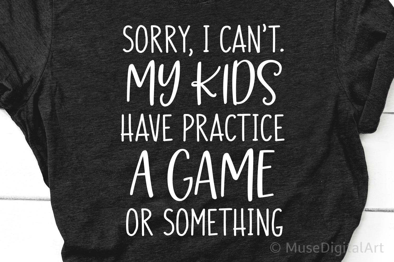 Funny Mom Shirt Svg, Football Mom Svg, Baseball Mom Life Svg example image 1