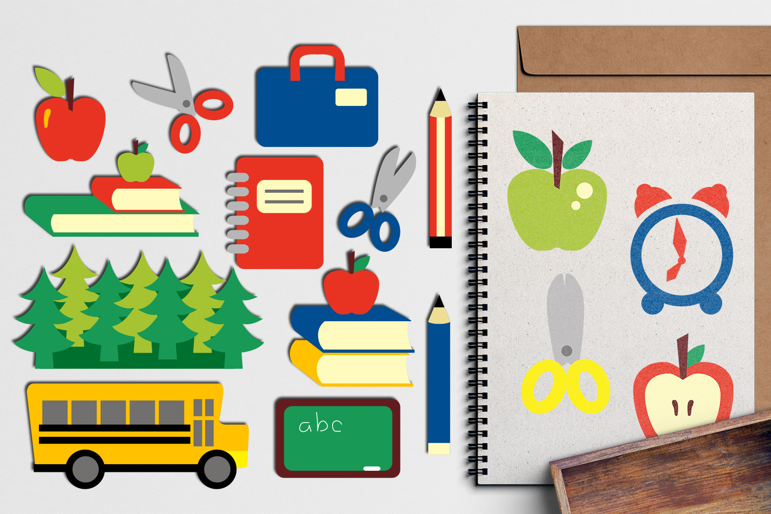 Back To School Clip Art Huge Bundle - Over 350 Graphics example image 27
