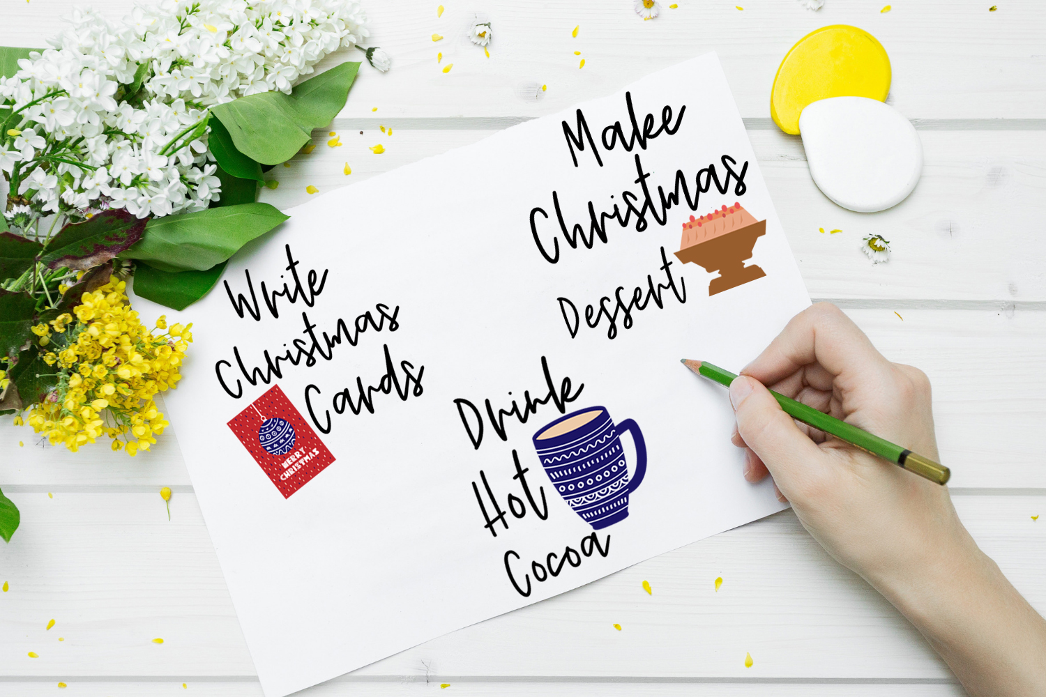 Christmas To Do List Planner Stickers-Christmas Stickers example image 4