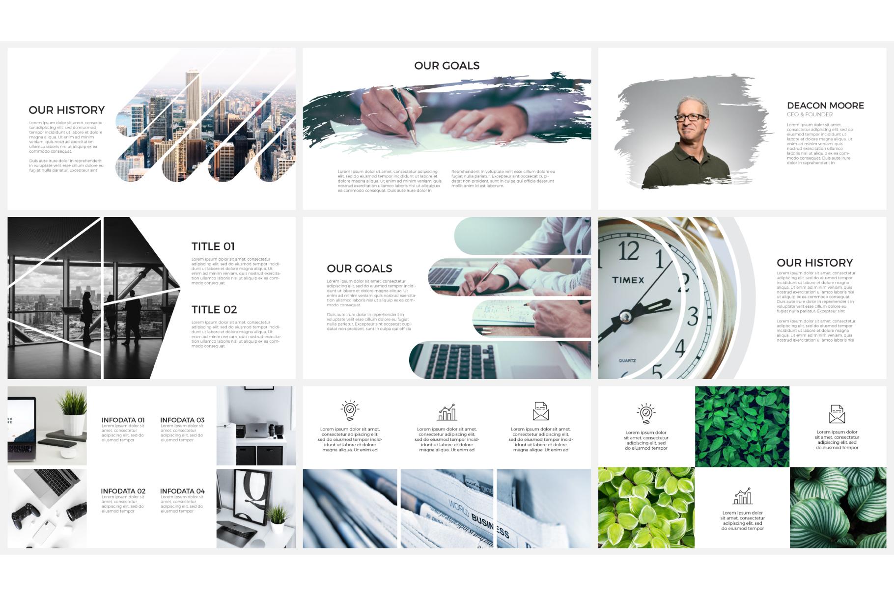 Photo slides presentations example image 3