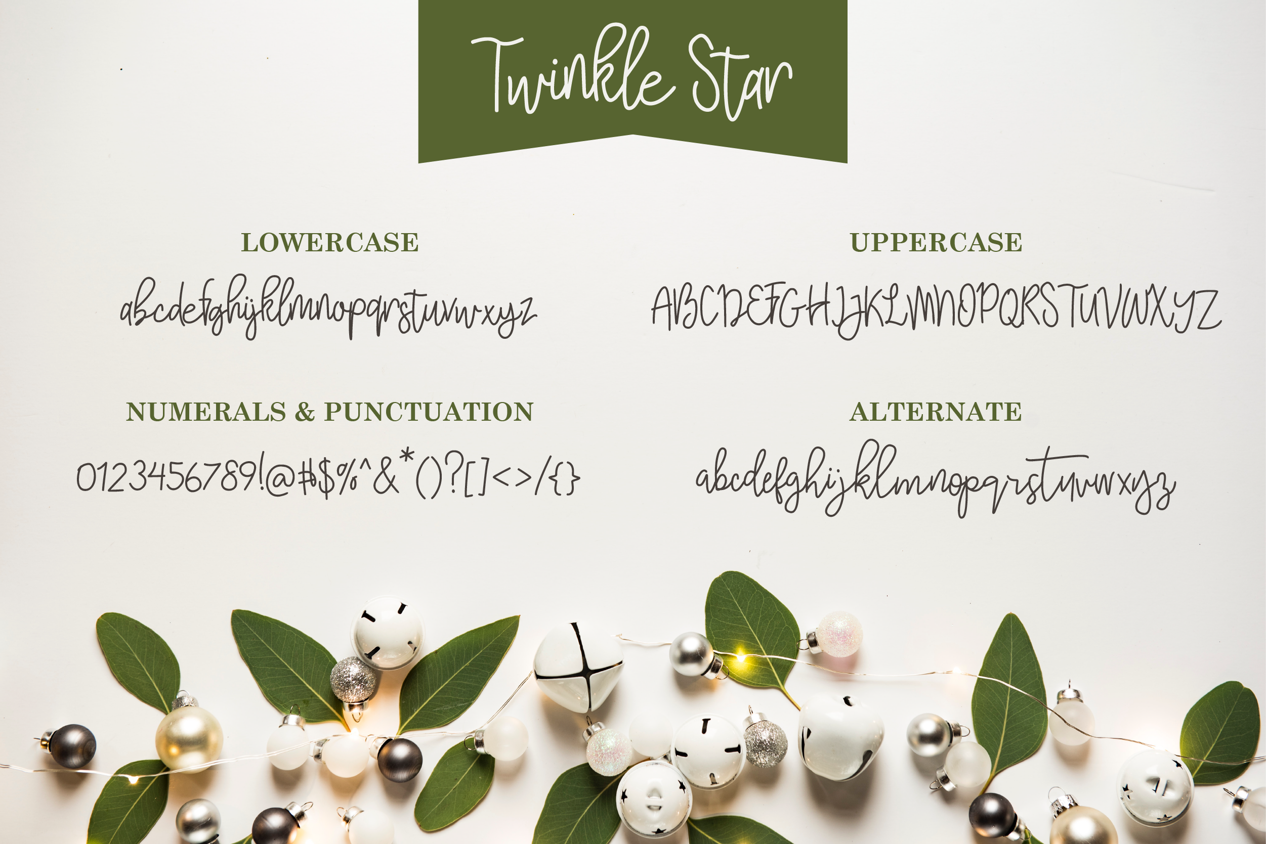 Twinkle Star Font example image 4