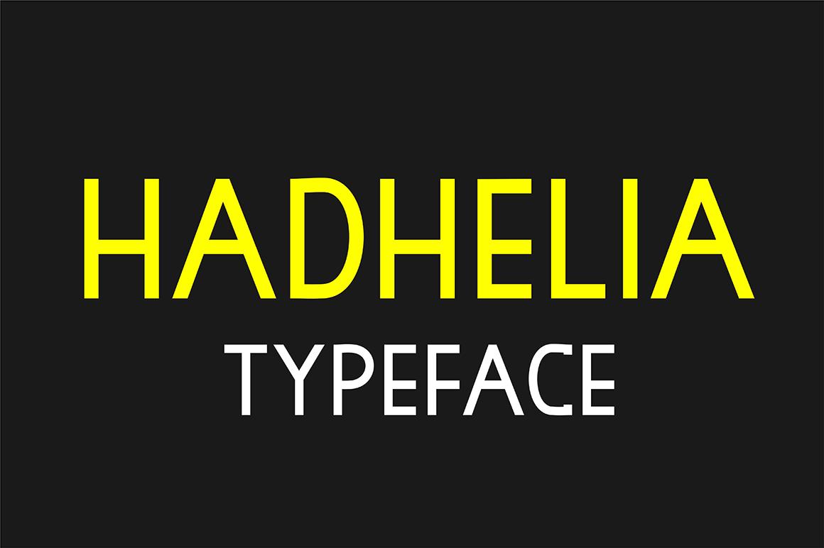 Hadhelia Sans example image 1