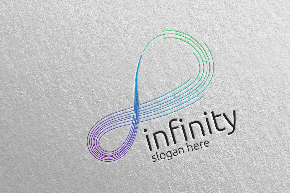 Infinity loop logo Design 30 example image 5