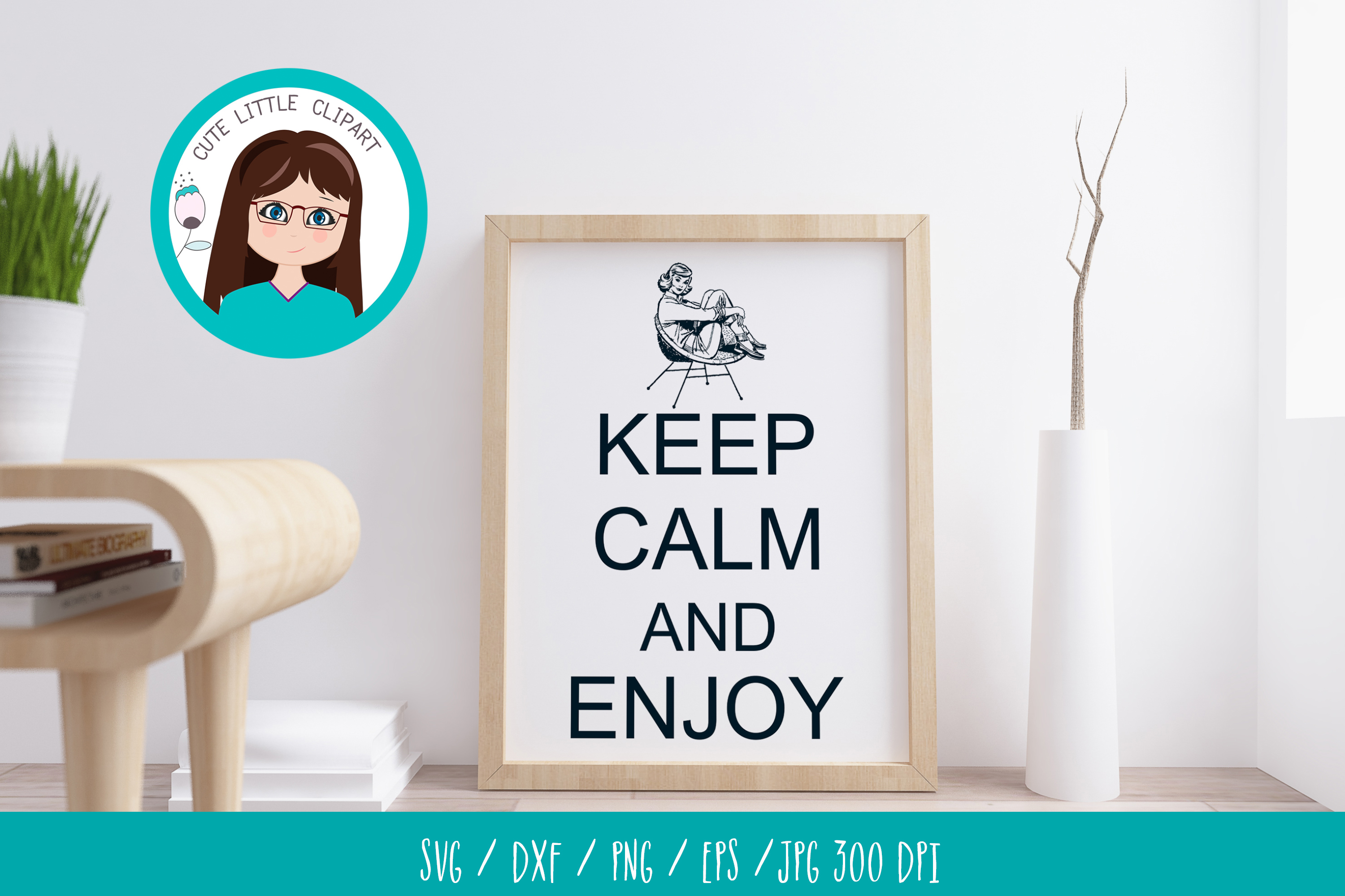 Keep Calm and Enjoy svg example image 2