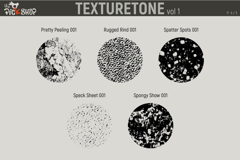 Texturetone Promo Pack. Vol 01 and Vol 02 example image 5