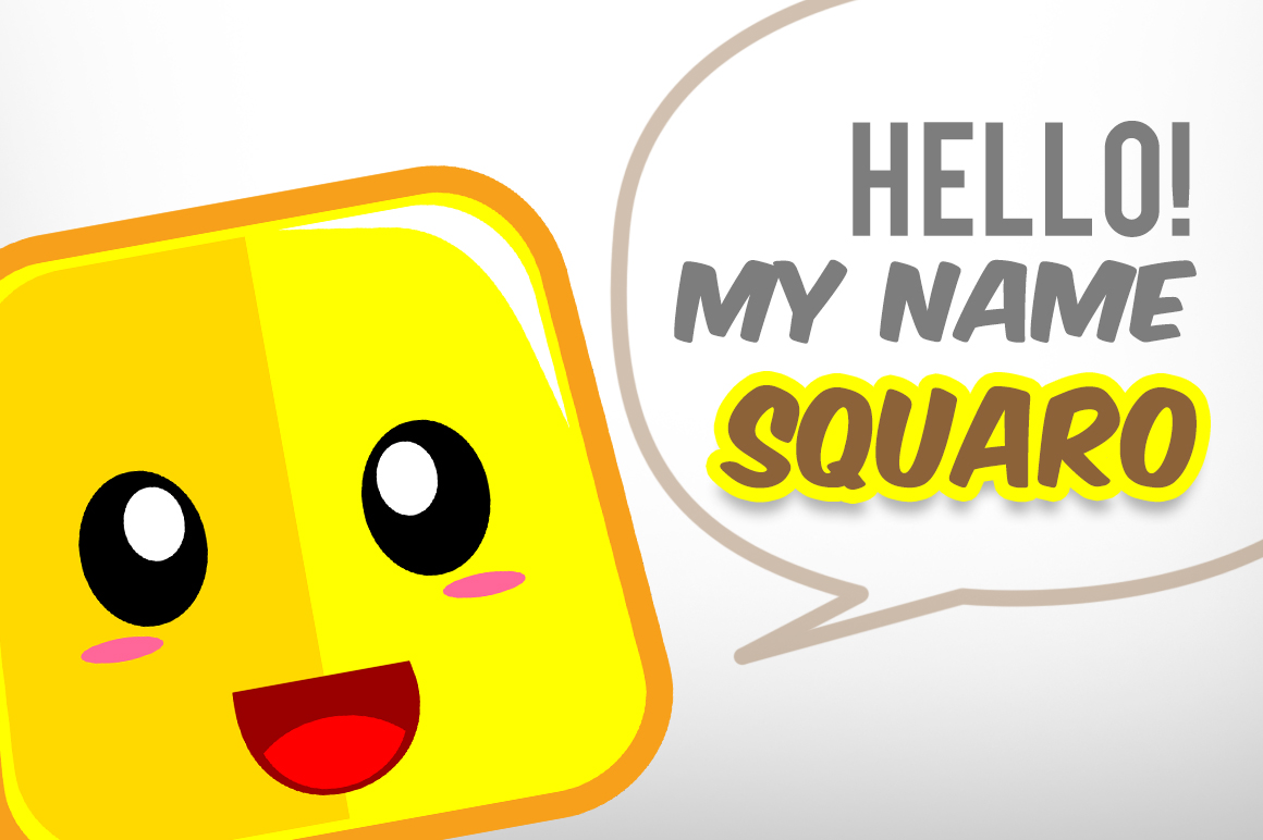 Square Cute Emoticon example image 3