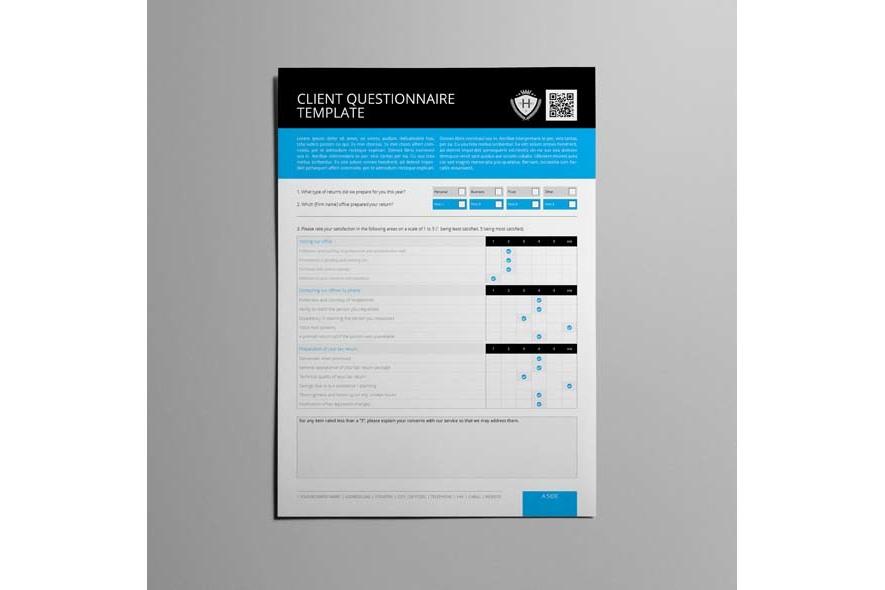 Client Questionnaire Template example image 4