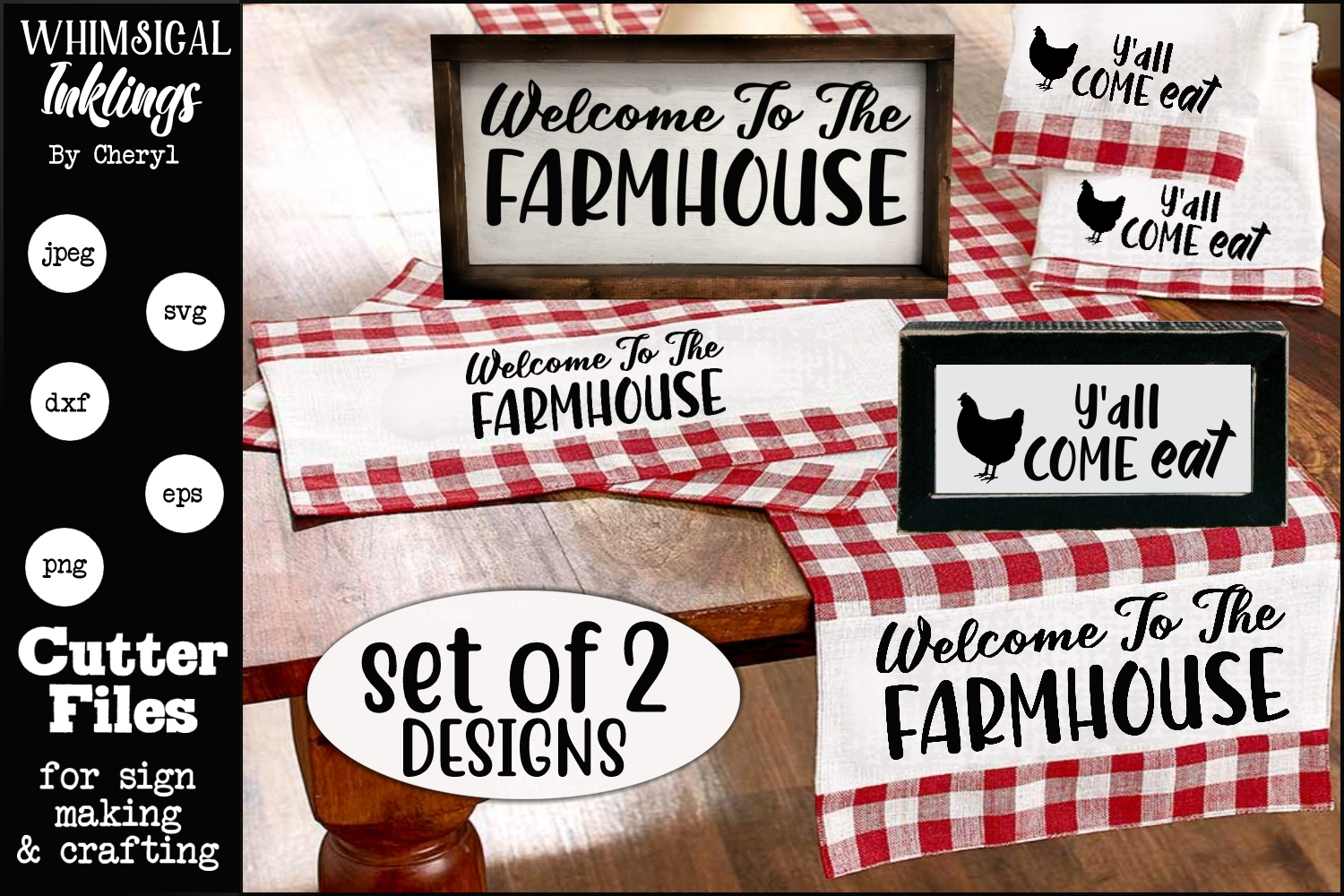 Welcome To The Farmhouse SVG Set example image 1