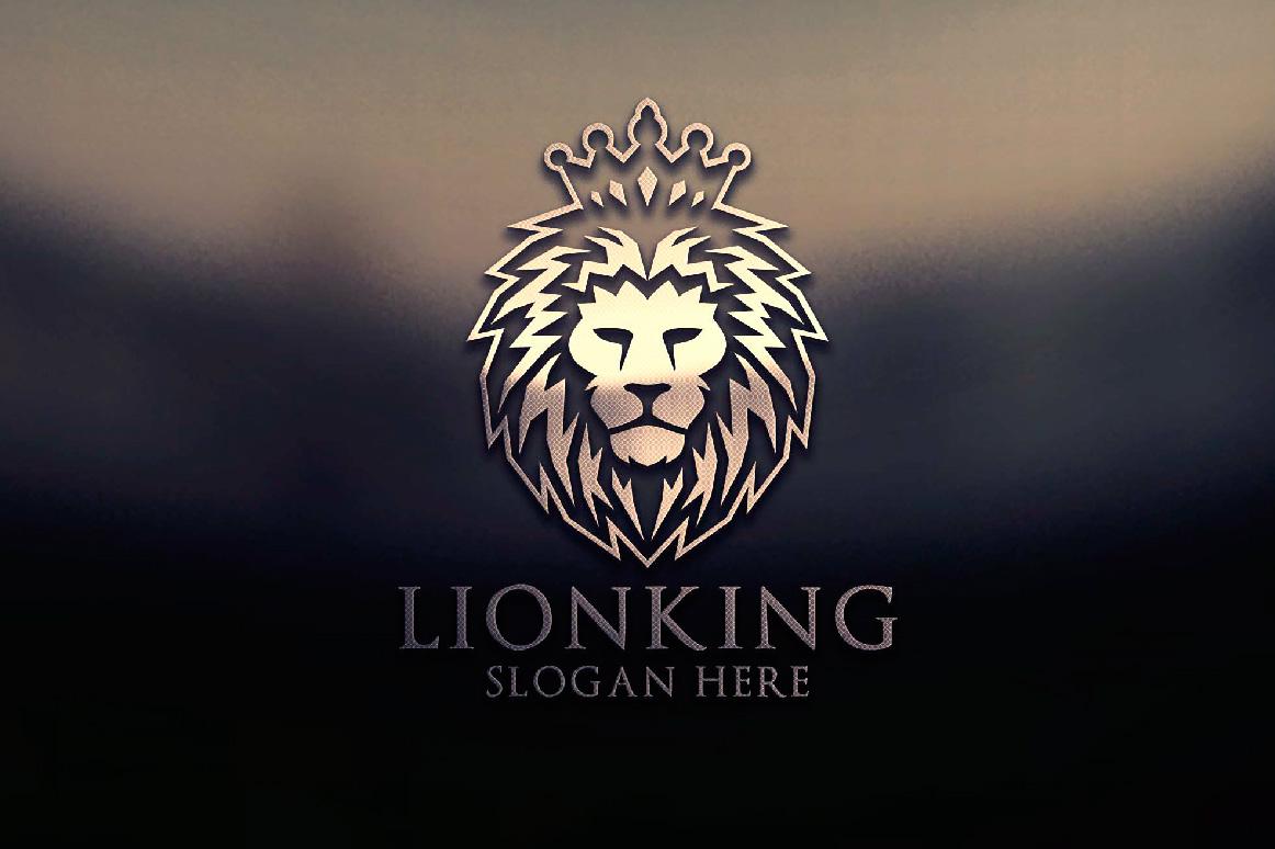 Lion logo example image 5