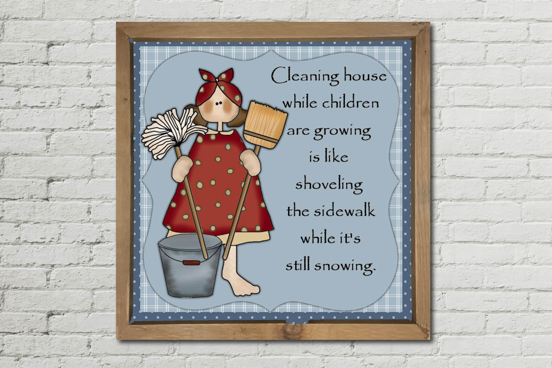 Housework Print example image 2