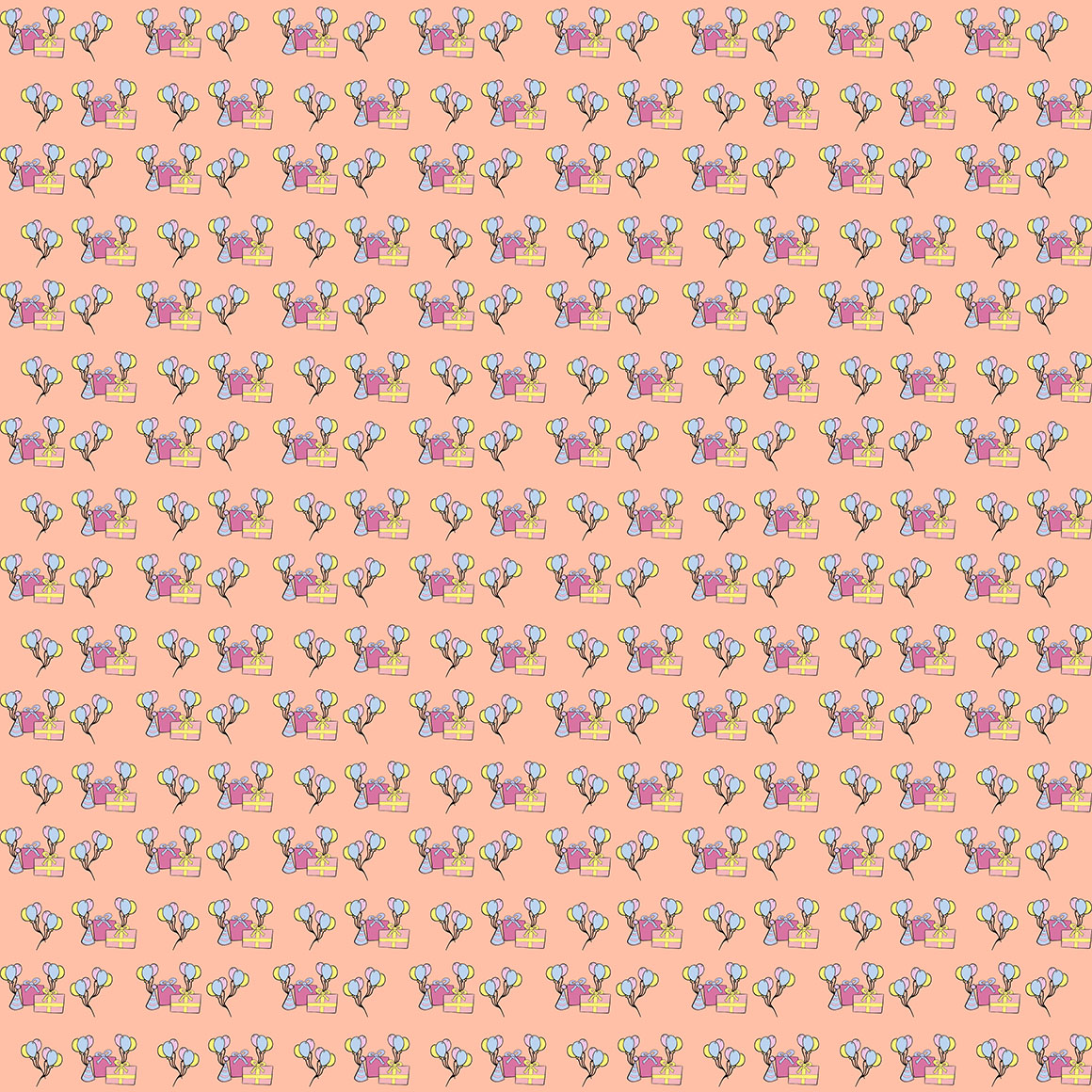 10 Unicorn Themed Seamless Patterns example image 5