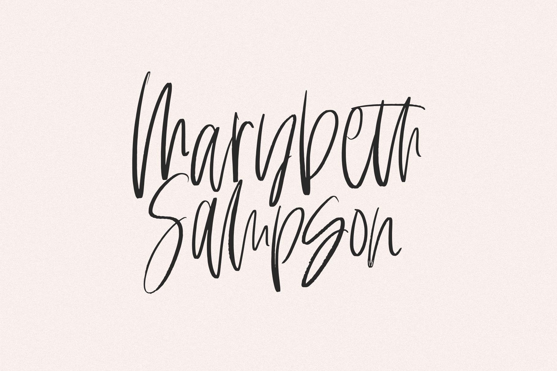 Hamor Island - Handwritten Script Font with Extras example image 10