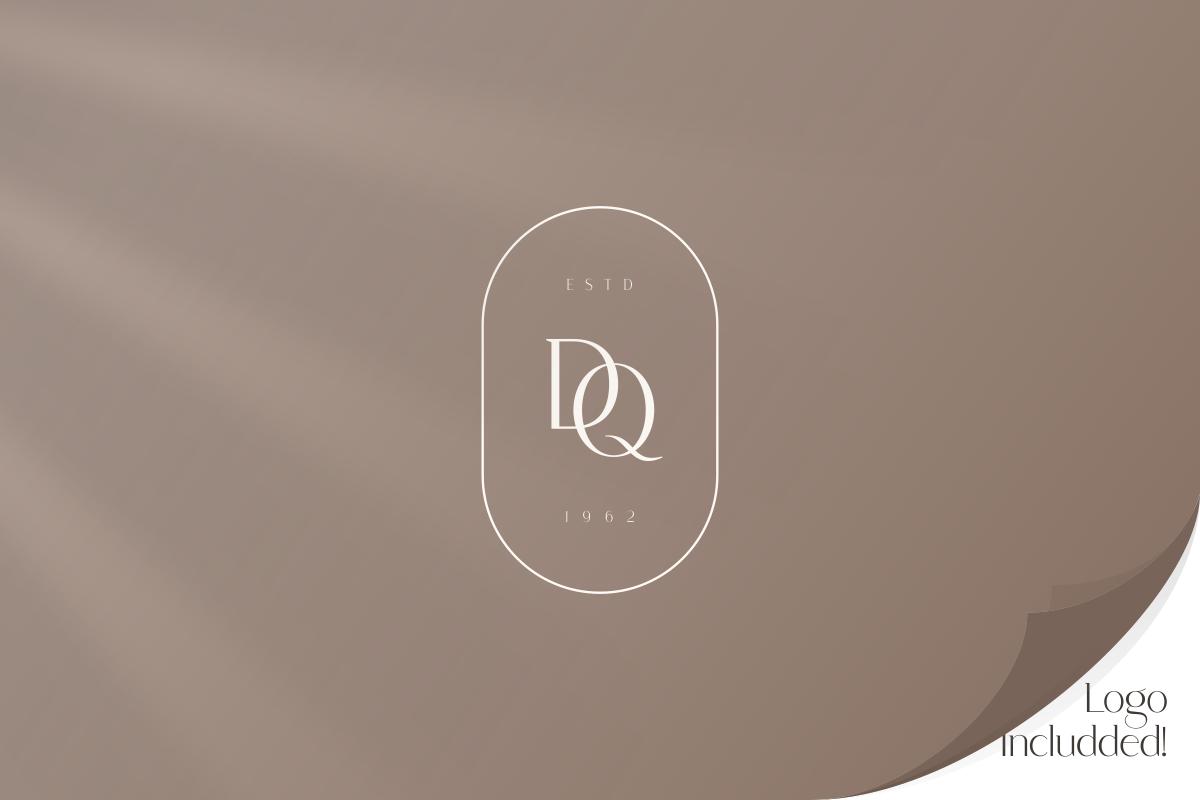 Saudagar Display Font & 7 Bonus Logo example image 7