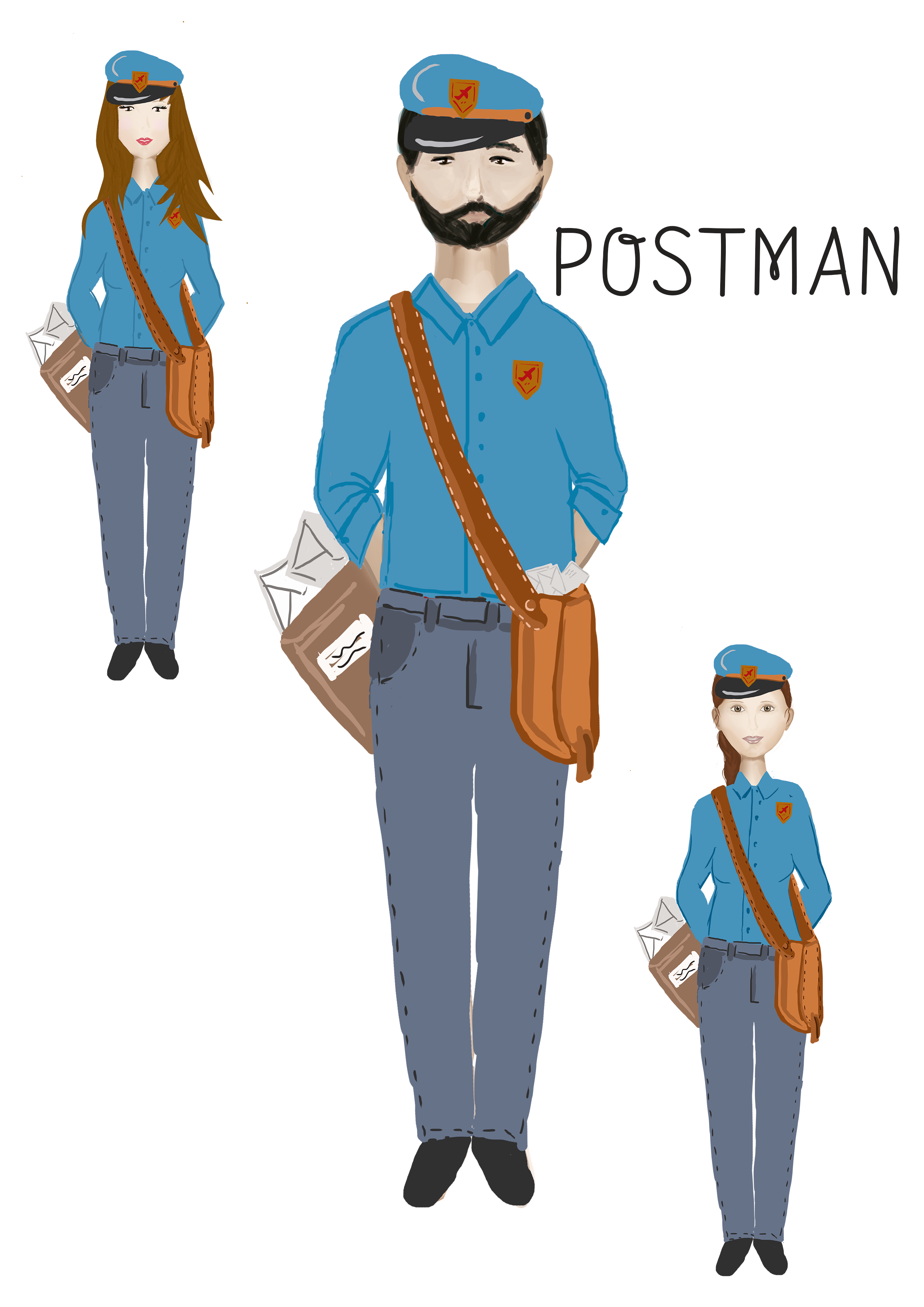 Profession's Characters example image 9
