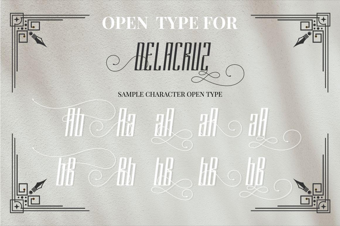 DELACRUZ TYPEFACE example image 8