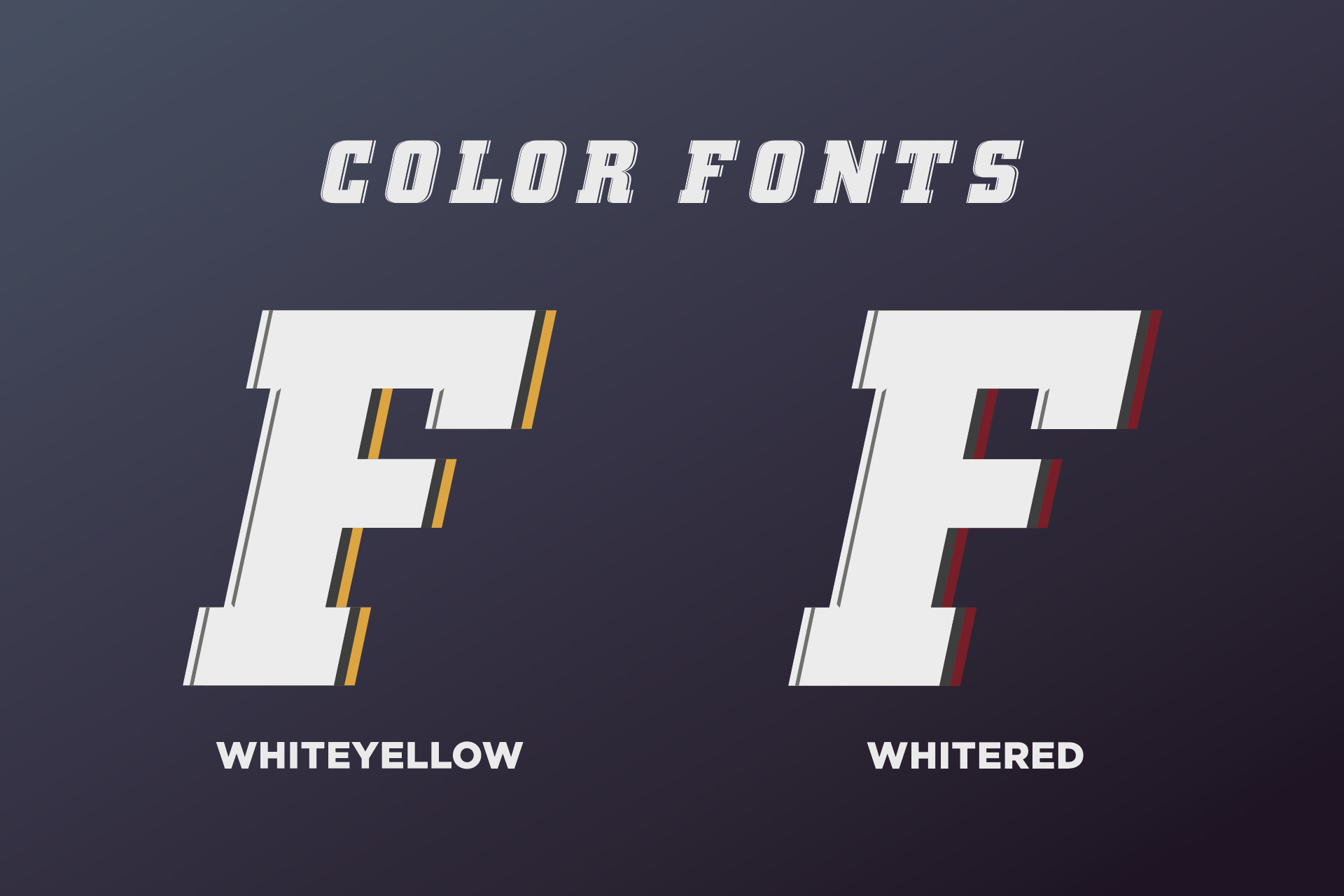 SVG color font - Fargo example image 2