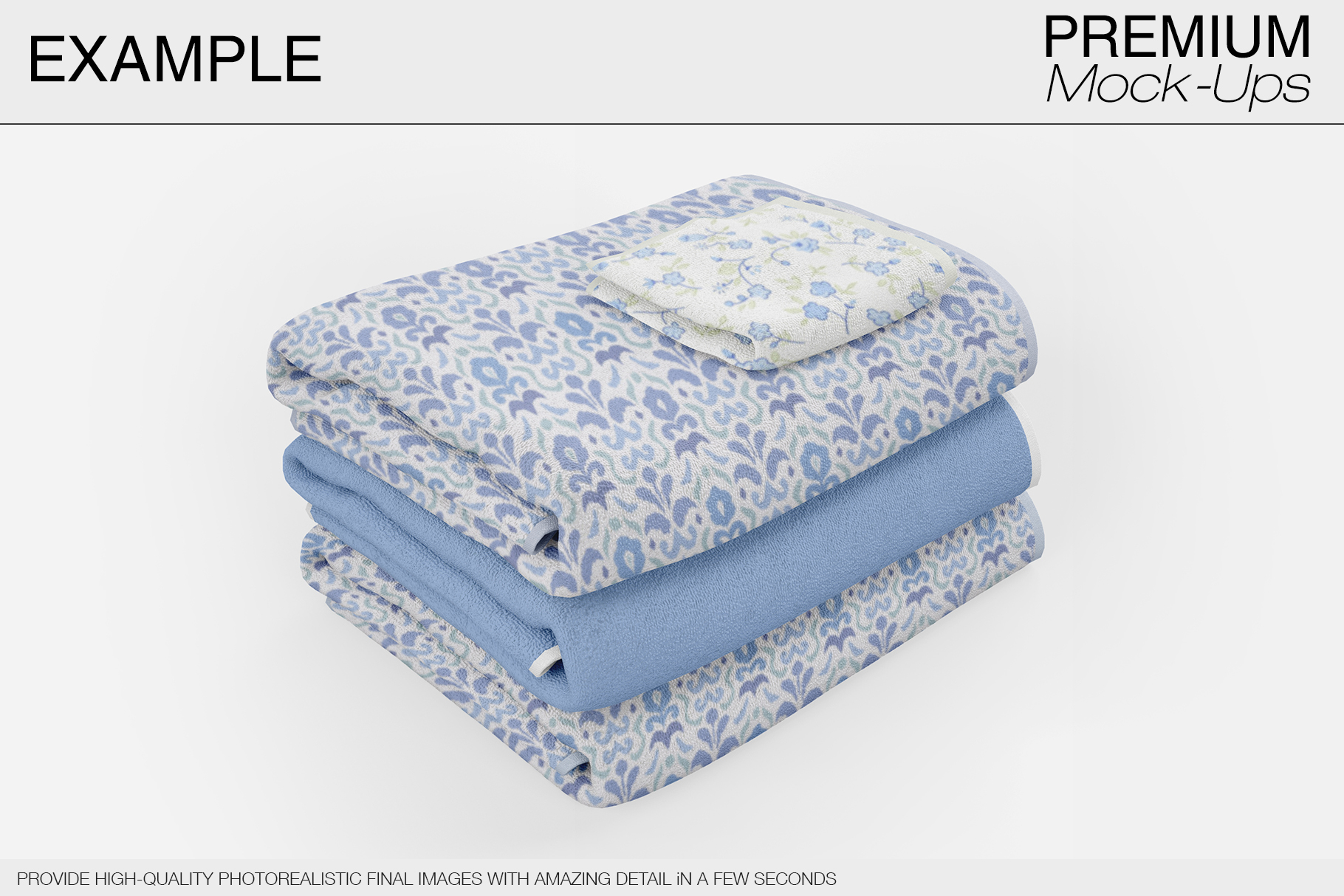 Bath Towels example image 11