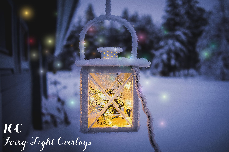 100 Fairy Light Overlays example image 1