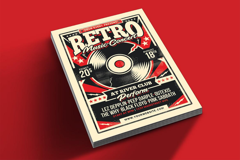Retro Music Concert example image 2