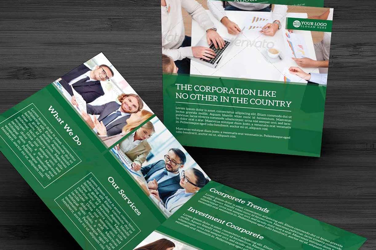 Bifold Corporate Brochure example image 4