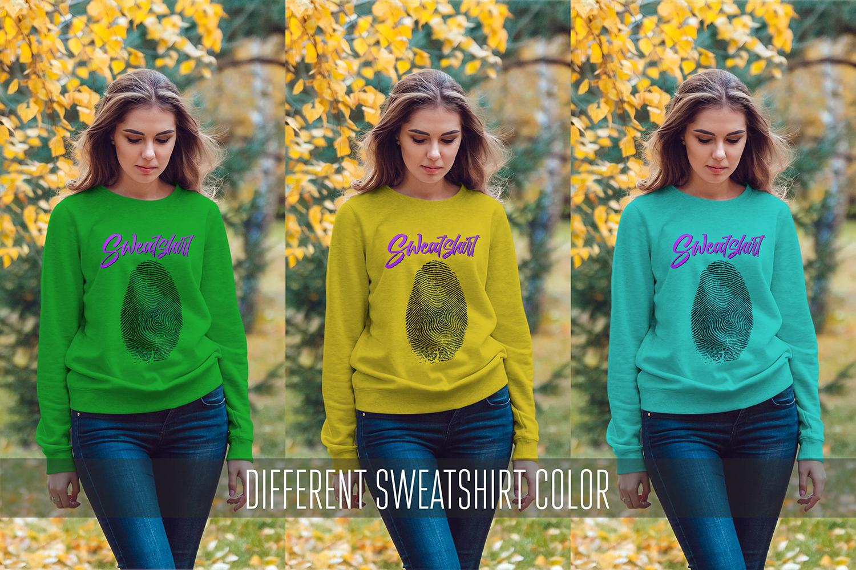 Sweatshirt Mock-Up Vol 3 example image 8