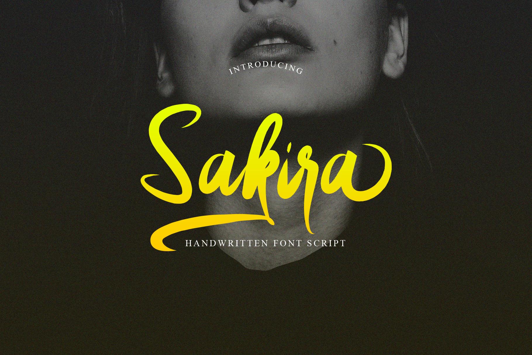Sakira Script example image 8