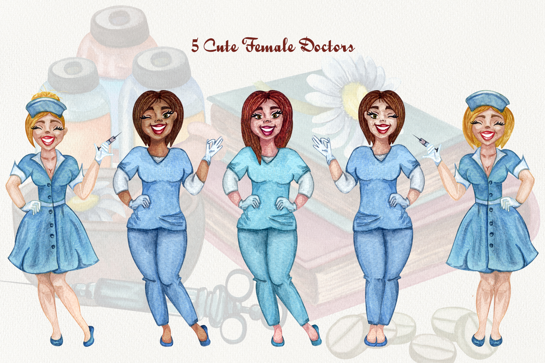 Pharmacy and Medical set example image 5