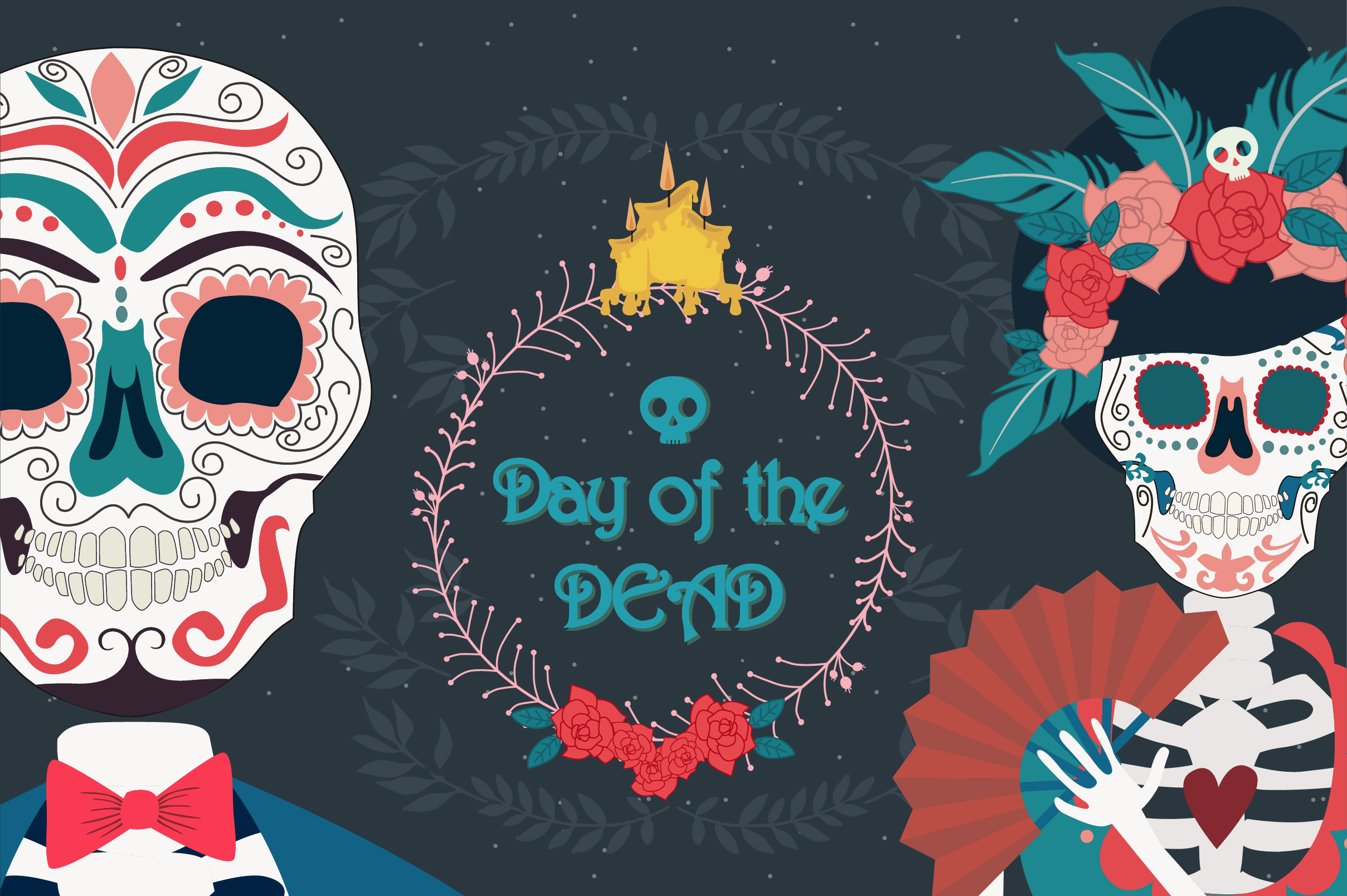 Day of the dead collection example image 10