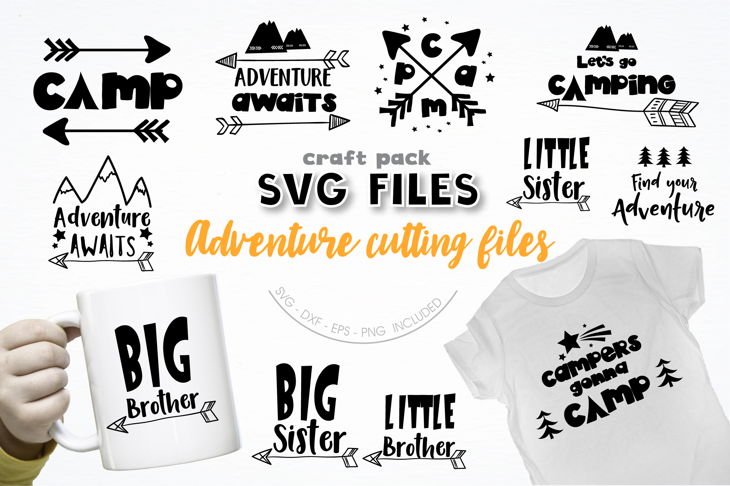 AMAZING SVG AND GRAPHIC BUNDLE- 550 in 1 example image 10