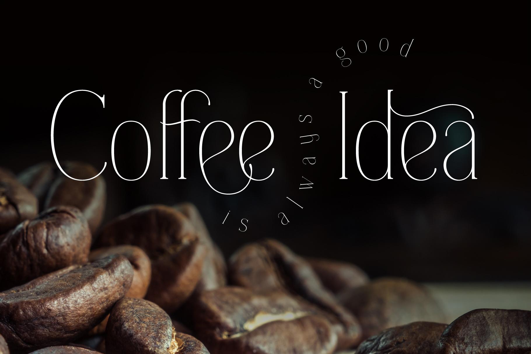 Everleigh Serif font example image 5