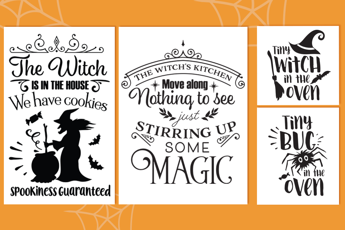 The Halloween SVG Cut Files Pack with 30 Items example image 5
