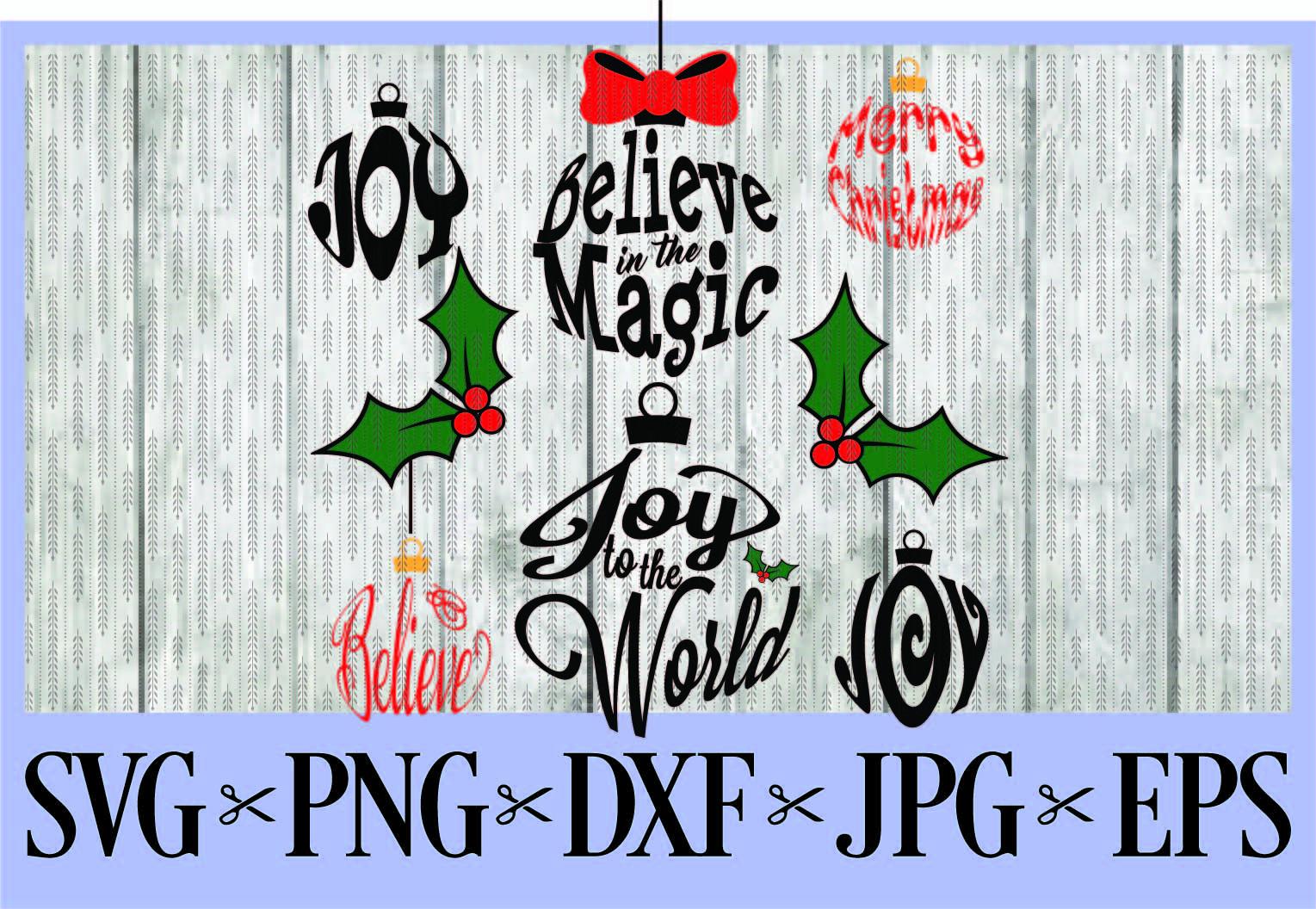 Merry Christmas Ornament Svg.Christmas Ornaments Balls Svg Png Eps Dxf Jpg Merry Christmas