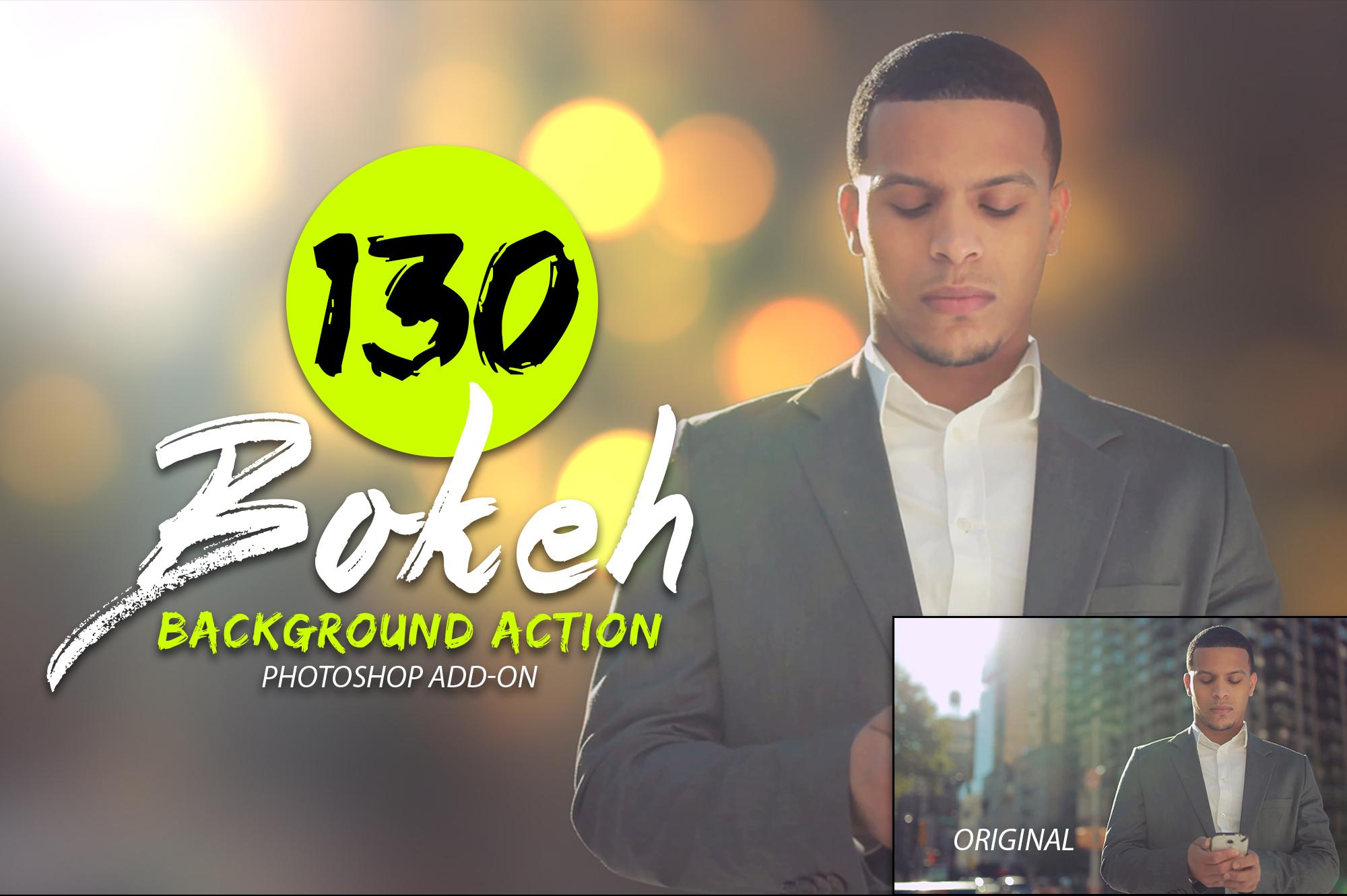 130 Bokeh Photoshop Action example image 2
