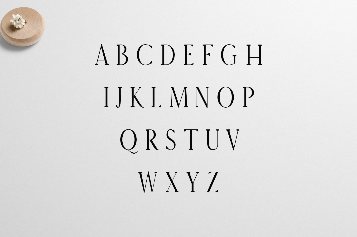 Earywn Serif 3 Font Family Pack example image 2