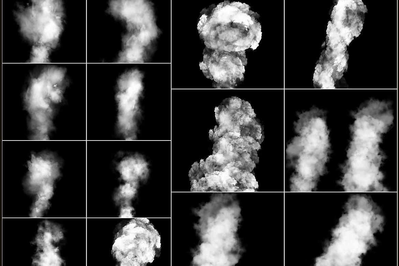 100 Cloudy Smoke Overlays example image 4