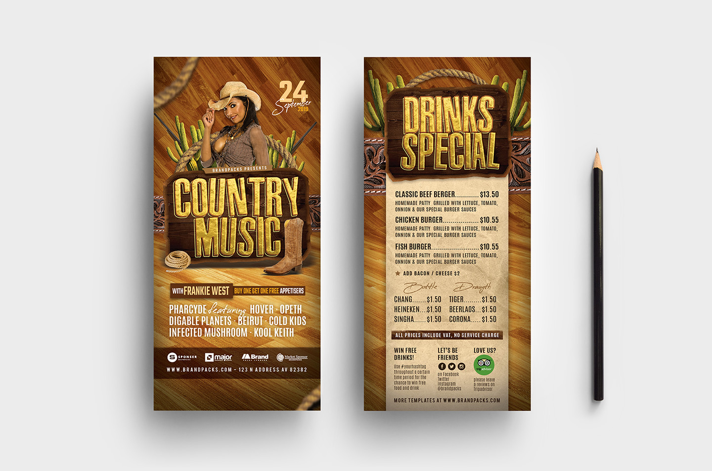 Country Music Flyer Template example image 5