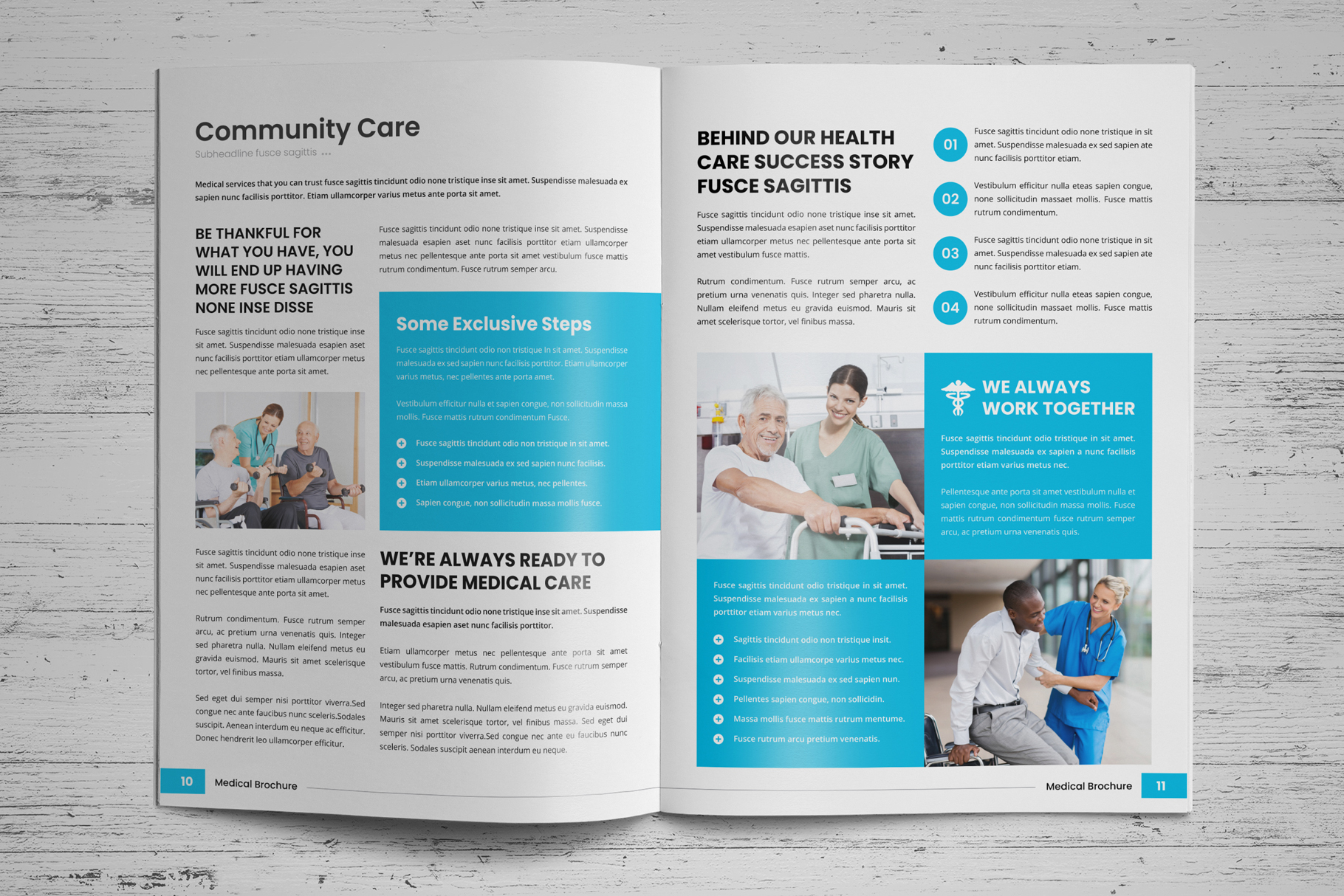 Medical HealthCare Brochure v6 example image 7